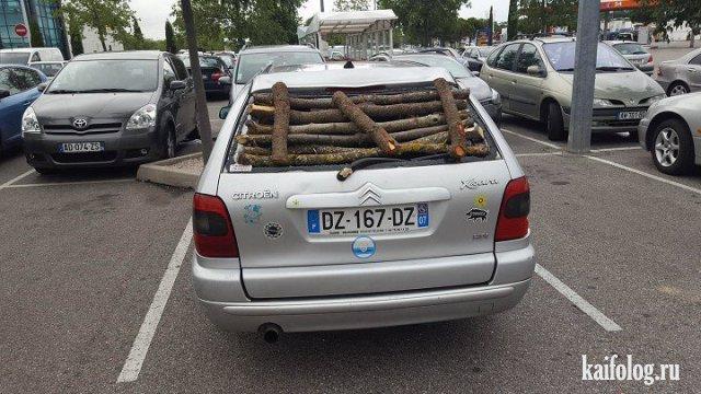 Авто приколюхи (45 фото)