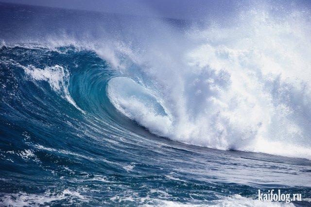 Морские волны (50 фото)