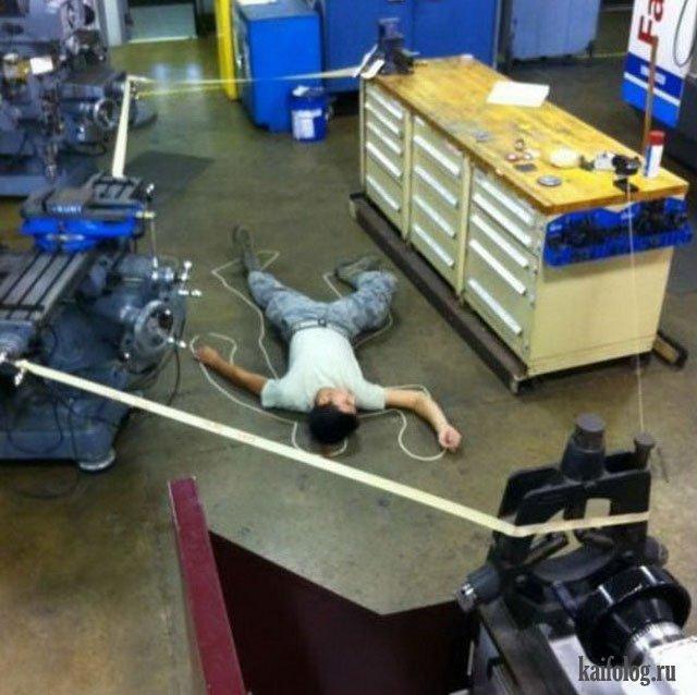 Когда скучно на работе (50 фото)