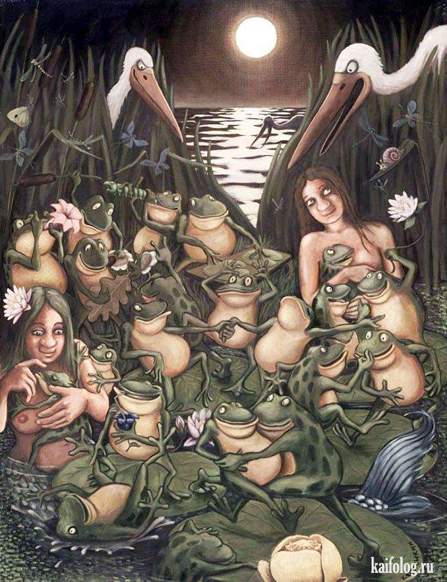 Картины Копейкина (40 картин)
