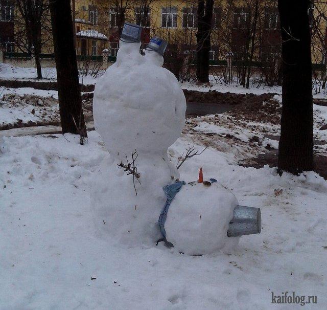 Немного зимы (45 приколов)