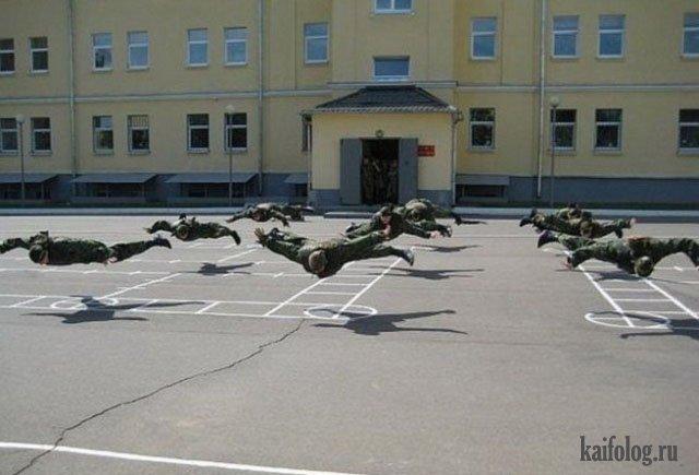 Маразмы российской армии (50 фото)