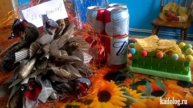 Подарки на 23 февраля (50 фото)