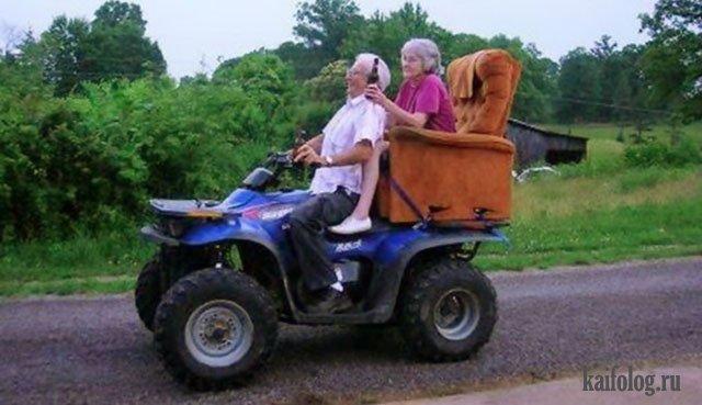 Молодые пенсионеры (45 фото)