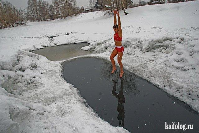 Русские праздничные девушки (50 фото)