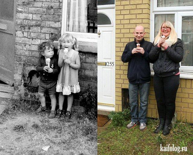 Восстановленные фото (40 фото)