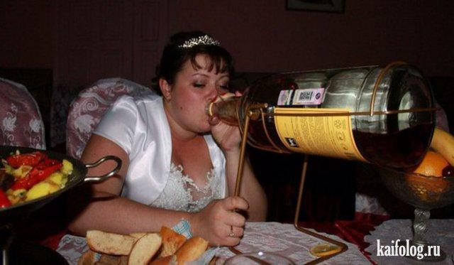 Жуткие свадьбы изо социальных сетей (60 фото)