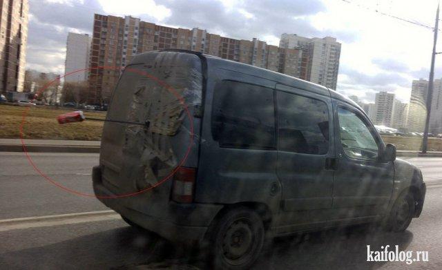 Дорожные ужасы и приколы (45 фото)