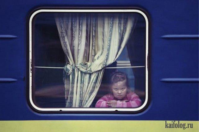 Ужасы российских поездов (45 фото)