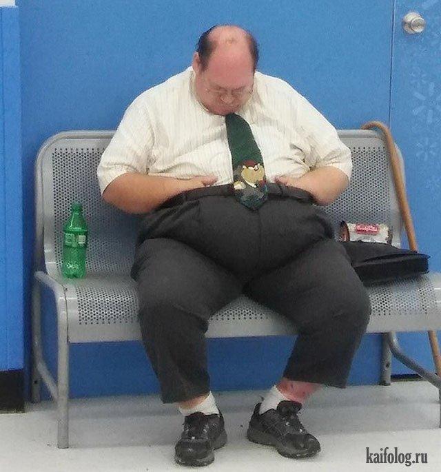жирные люди ужас