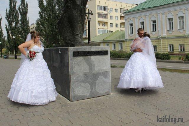 Нелепые свадебные фото (50 фото)