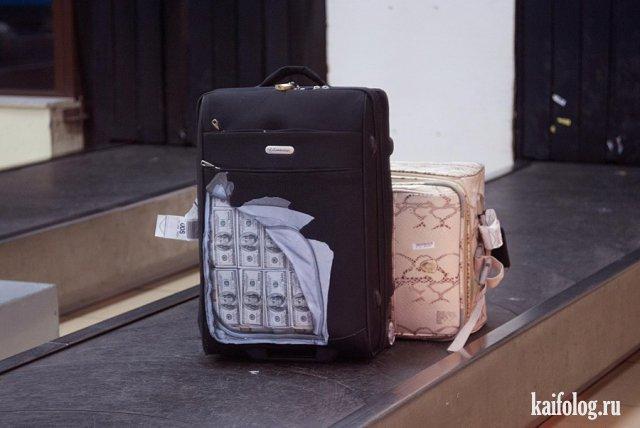 Багажные приколы (40 фото и видео)