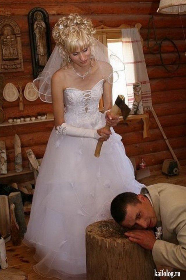 Ужасные свадебные фото (45 фото)