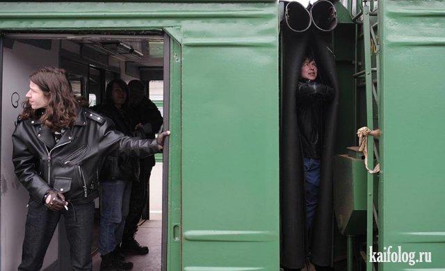 Ужасы российских электричек (45 фото и видео)