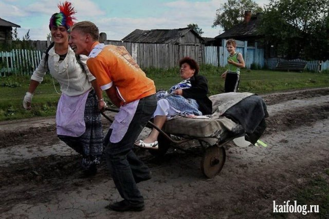 Приколы на деревне (50 фото)