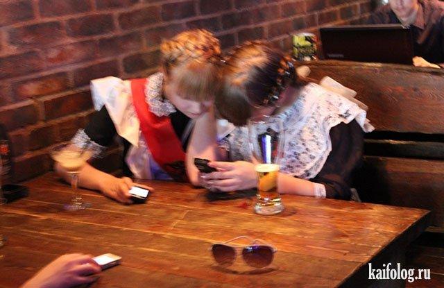 Очень пьяные бантики (40 фото)