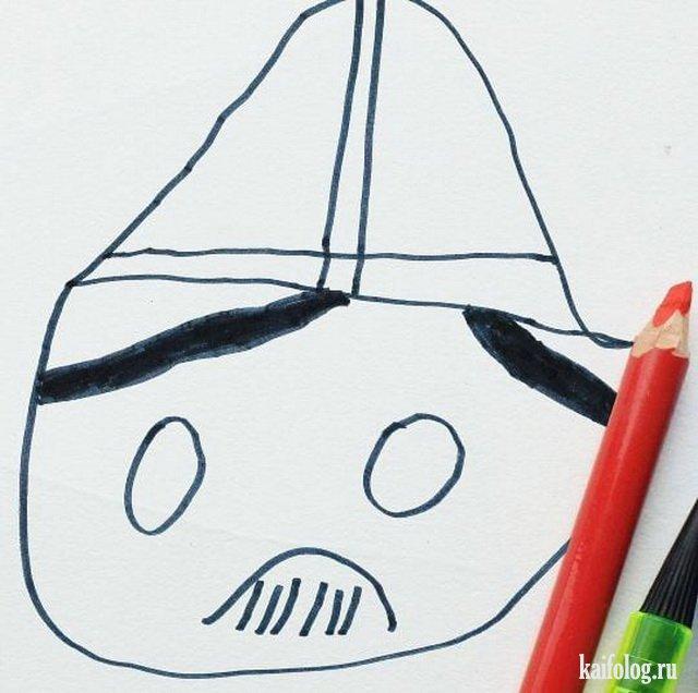 Ожившие рисунки сына (30 работ)