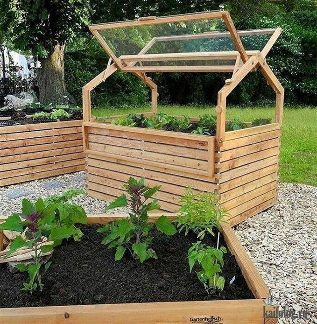 Прикольные идеи для дачи и сада (45 фото)