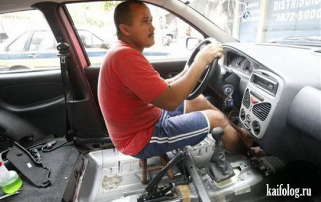 Ремонт авто своими руками (50 приколов)