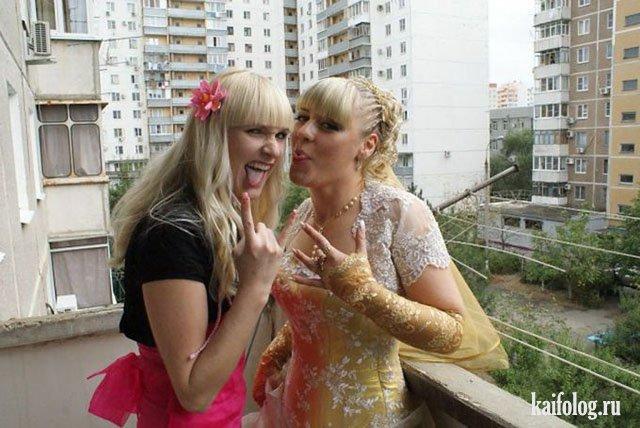 Ужасы и приколы русских свадеб (45 фото)