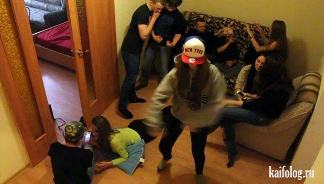 Ужасы молодёжных вечеринок (45 фото)