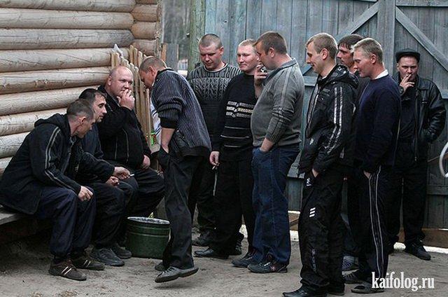 Деревенские проводы в армию (25 фото)