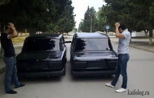 Русские авто приколюхи (45 фото)