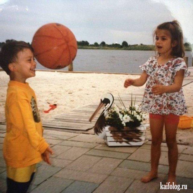 Прикольные и позитивные дети (45 фото)
