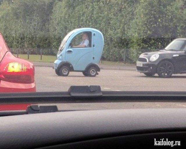 Авто приколы и маразмы на дорогах (50 фото)