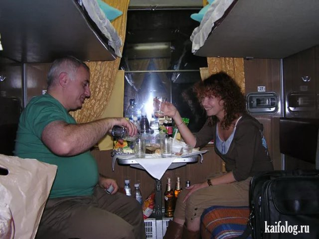 Новые ужасы российских поездов (50 фото)