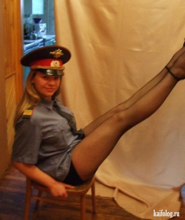 эро фото девушек милицеонеров