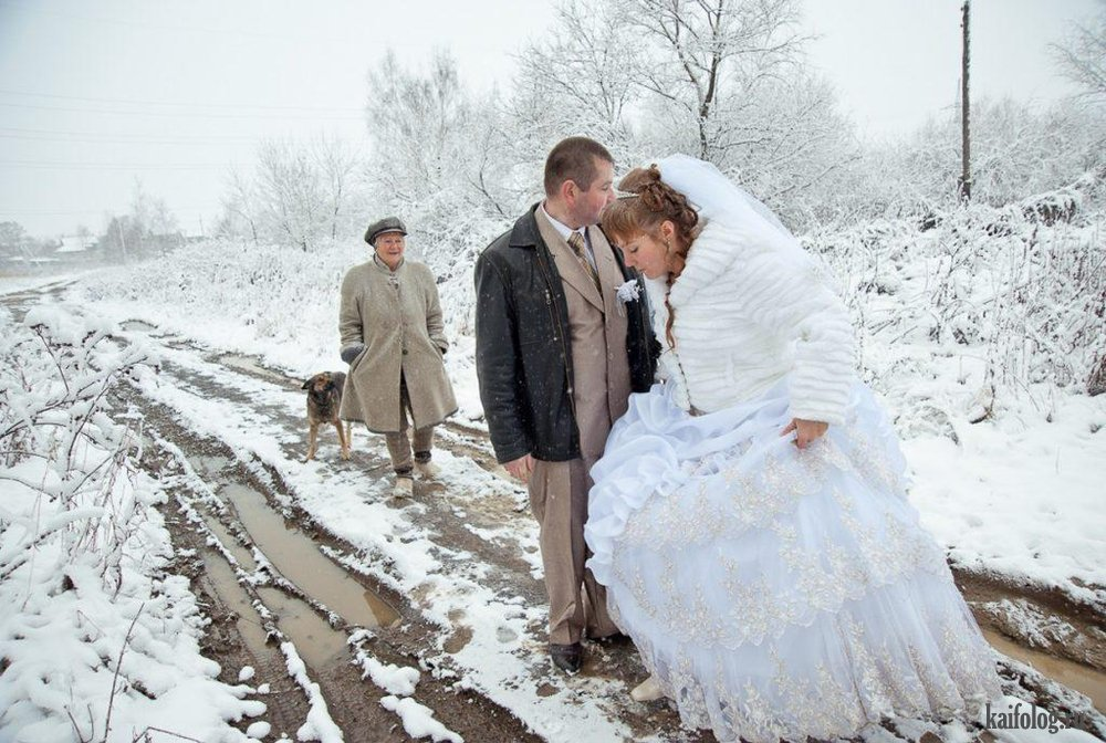 последние прикольные фото со свадьбы русской можно сделать