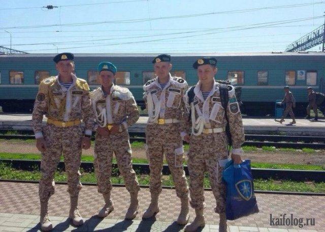 Швейные войска Украины и Казахстана (35 фото)