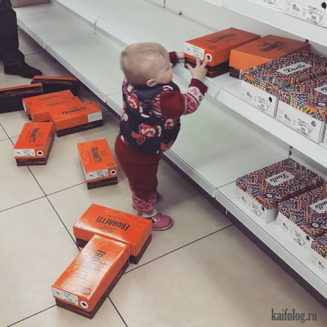 Дети в магазинах (40 приколов)
