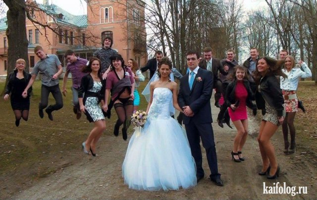 Свадьба - это красиво (45 приколов)