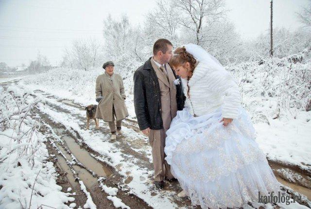 Приколы со свадеб (45 фото)