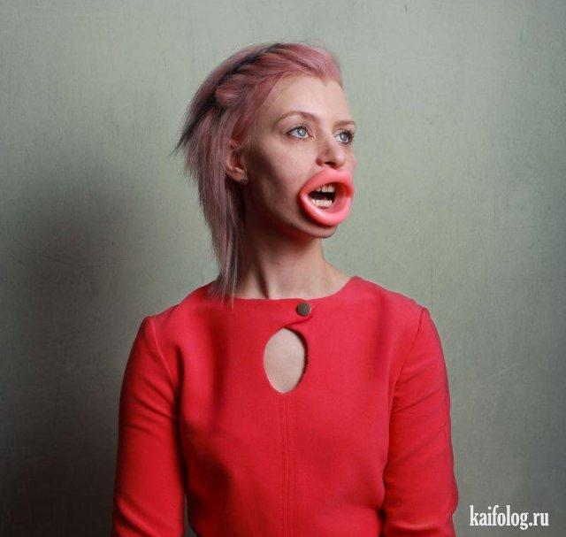 Ужасы и мрак из социальных сетей (50 фото)