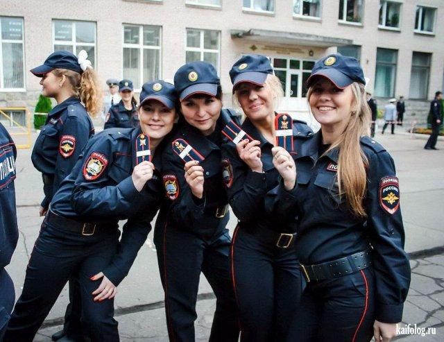 Сексуальные девушки милиционеры