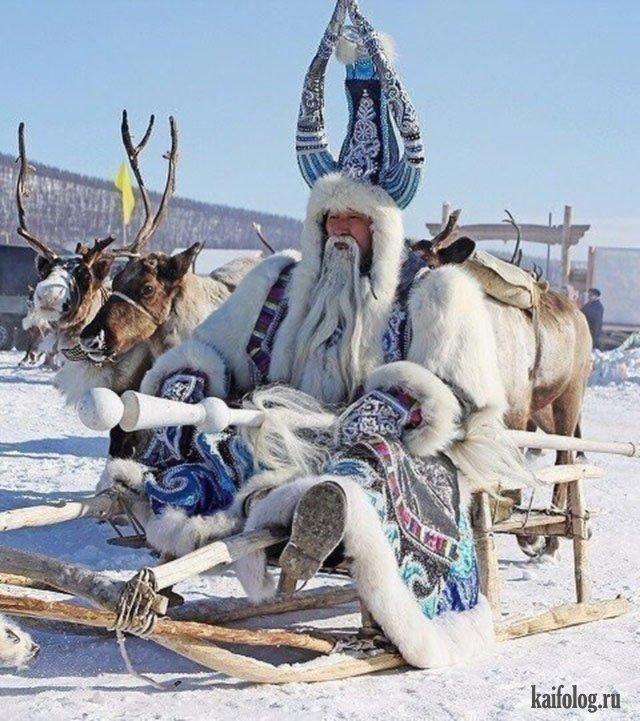 Суровые русские приколы про зиму (45 фото)