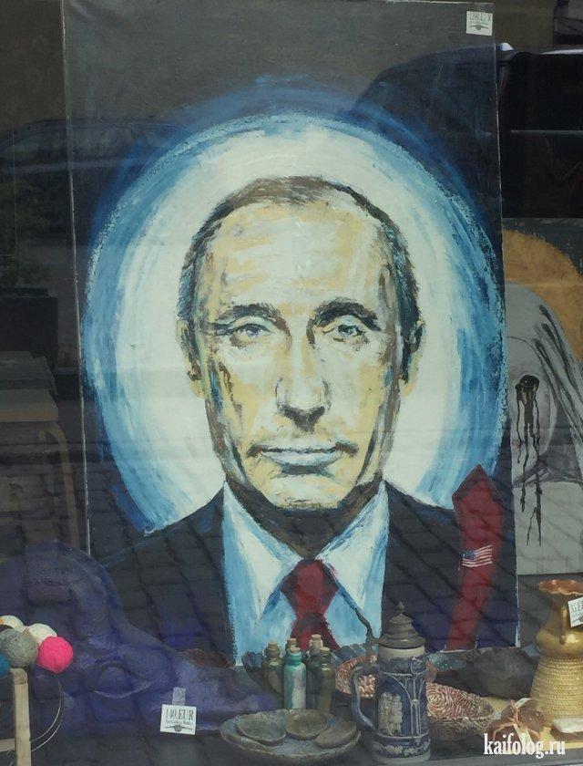 Приколы про Владимира Путина (50 фото)