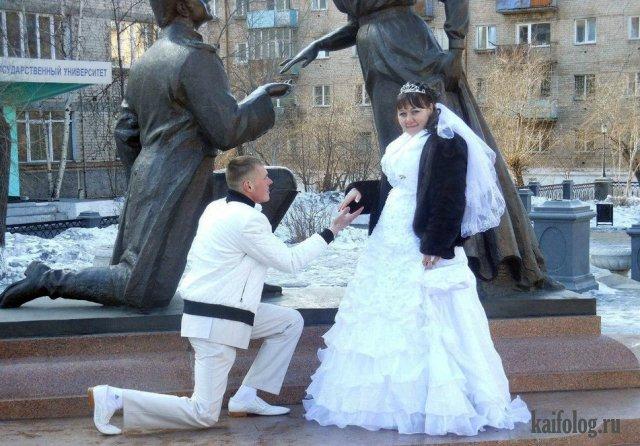 Маразмы с русских свадеб (55 фото)