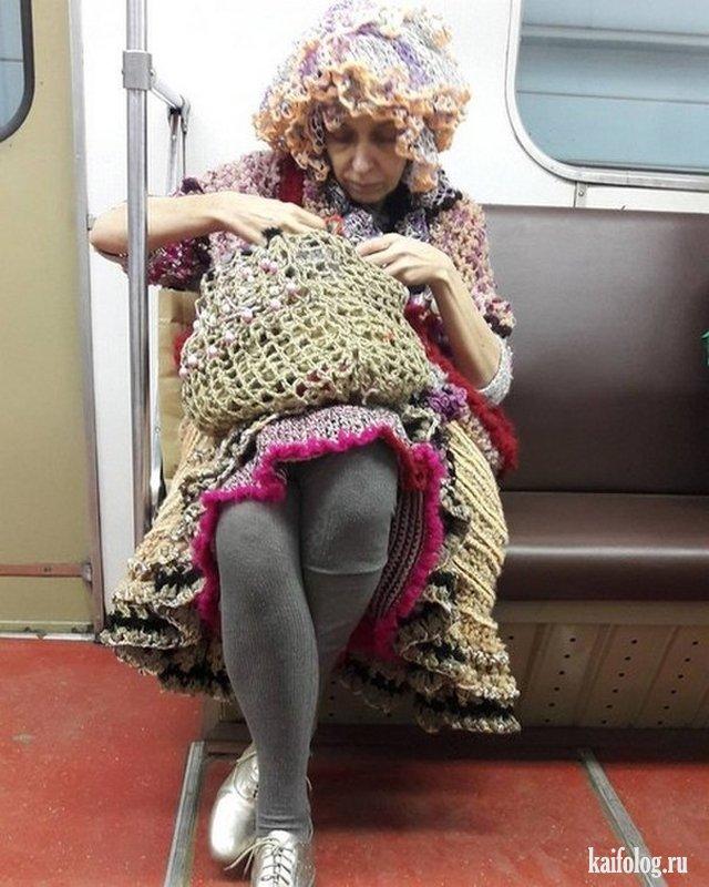 Модники метрополитена (45 фото)