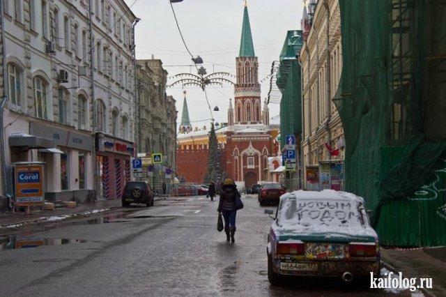 Новый Год 2018 в России (50 приколов)