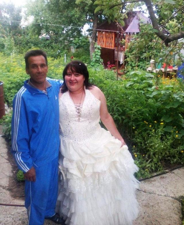 Маразмы и приколы с русских свадеб (45 фото)