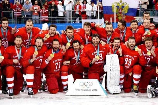 О том, как Россия выиграла олимпиаду 2018 по хоккею (50 фото)