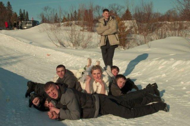 Зимние одноклассники (50 приколов)