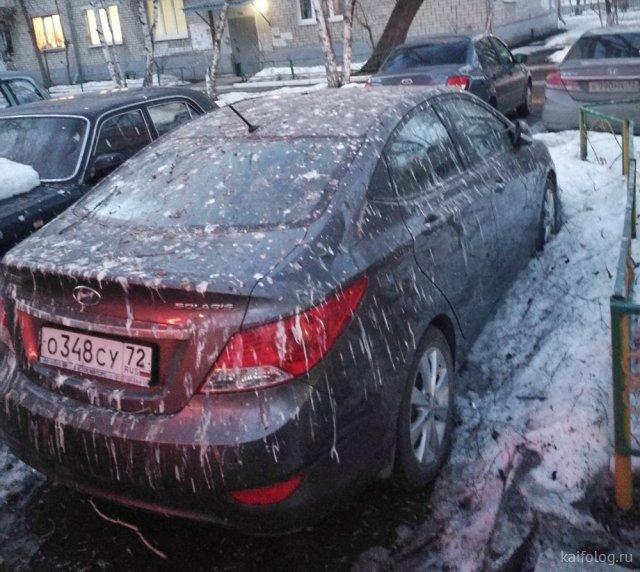 Приколы про авто и водителей (45 фото)