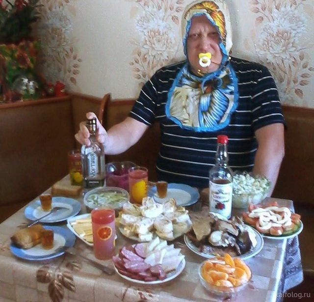 Маразмы и приколы про еду (50 фото)