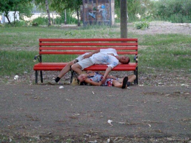 О том, как не надо отдыхать на природе (50 фото)