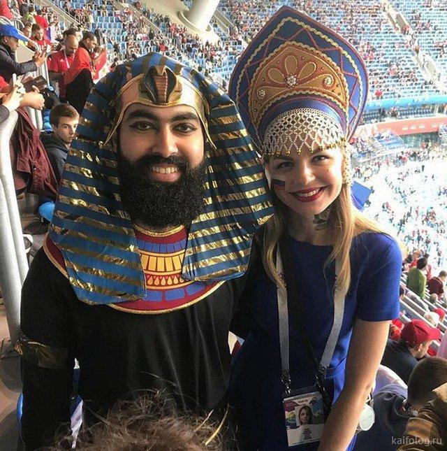 Про русских болельщиков на ЧМ по футболу 2018 (50 фото)